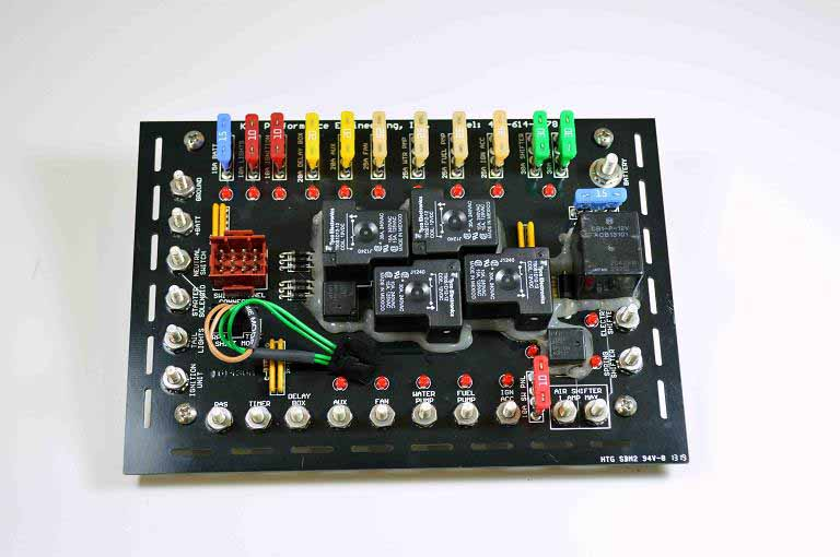 Refurbished Fuse Panel